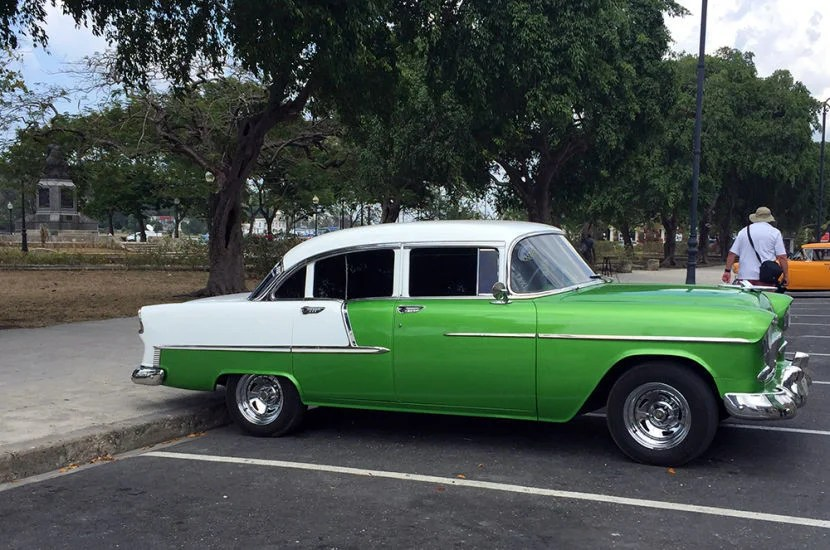 Seeing these rolling through the streets of Havana was a real treat!