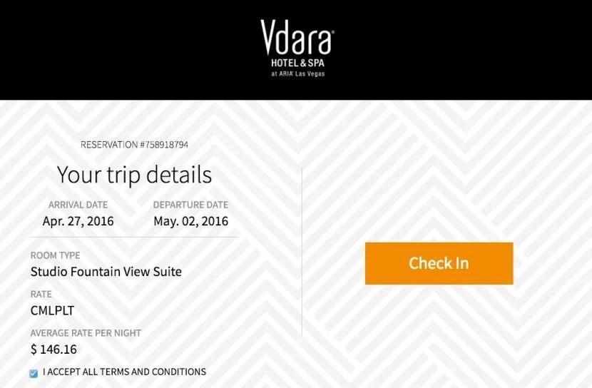 Vdara Offers Online Checkin Part 94