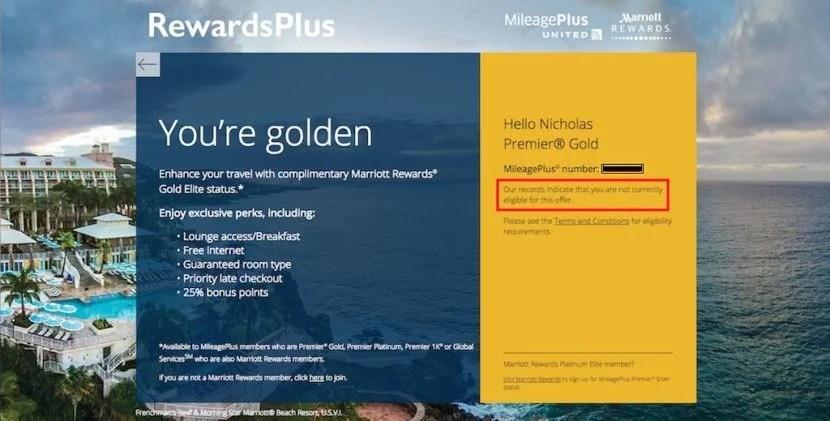 RewardsPlus registration error