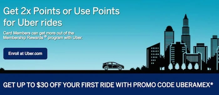 The ability to earn 2X MRs on Uber rides is nice, but using your points for free rides yields little value.