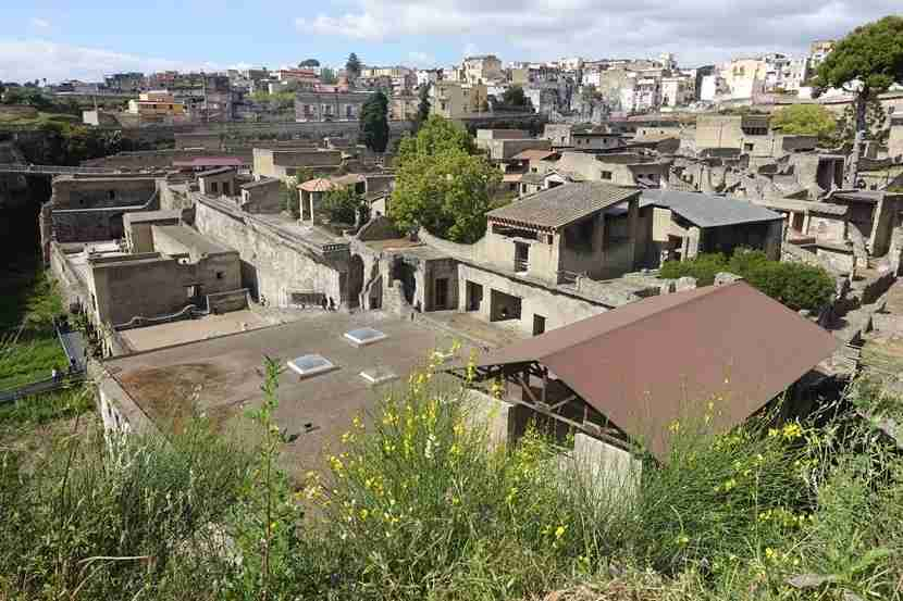 The ancient ruins of Herculaneum are just a 20-minute drive from the city center of Naples. Image courtesy of the author.