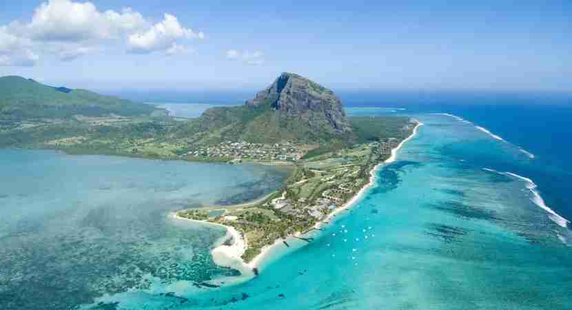 Visit Mauritius from Europe for 30,000 Flying Blue miles. Photo courtesy of Shutterstock.