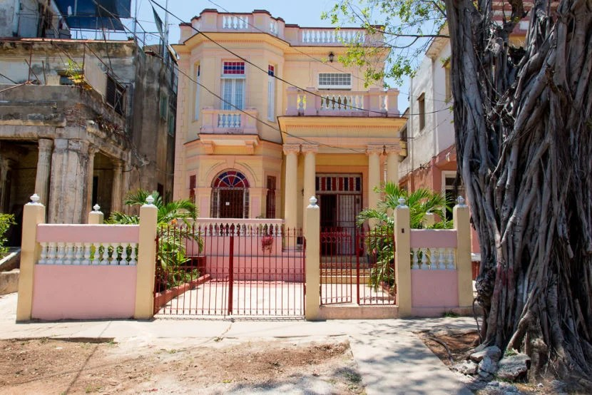You can rent some incredible colonial houses on Airbnb.com from the comfort of your own home, and get bonus points when using the right credit card.