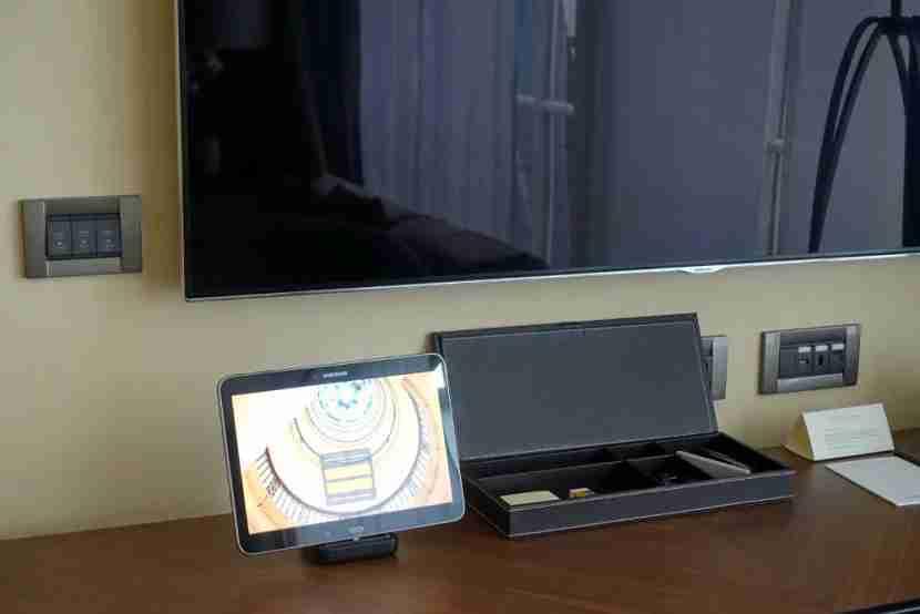 Samsung Galaxy tablet.