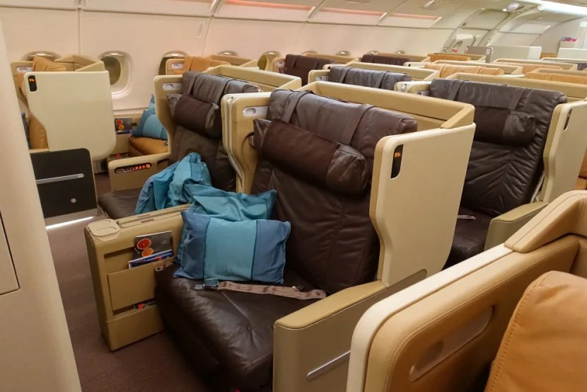 Review: Singapore Airlines A380 Business Class — SIN to JFK