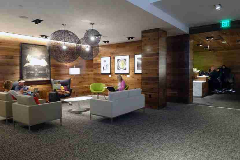 Amex Centurion Lounge IAH