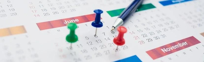 IMG Calendar schedule banner shutterstock 127471691