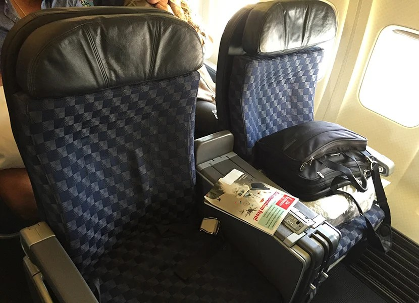 Comparing Premium Airline Service To Hawaii
