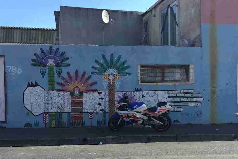 Take a street art tour of one of Cape Town