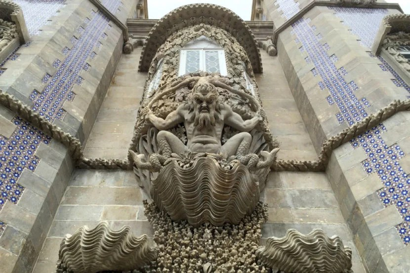 Fantastic architecture at the Palácio da Pena.