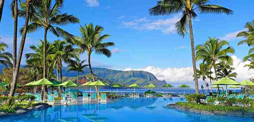 Photo courtesy of the St. Regis Princeville Resort on Kauai