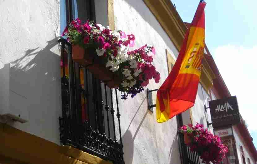 You can find plenty of cute B&Bs or hostels to stay in for super cheap in Andalusia. Image courtesy of the author.