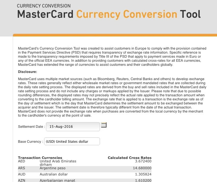 Vkc forex card rate