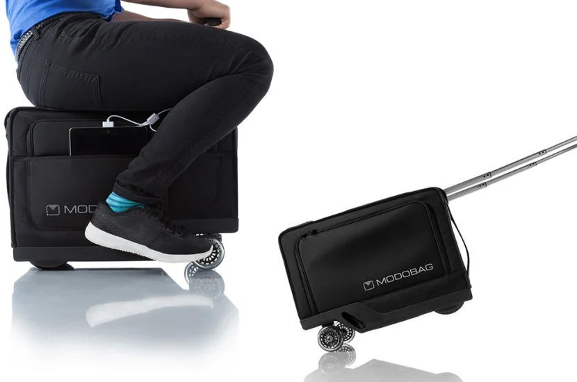 The Modobag can either be ridden or walked.