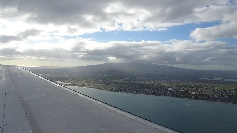The approach into Honolulu was spectacular, even if the landing was hard.