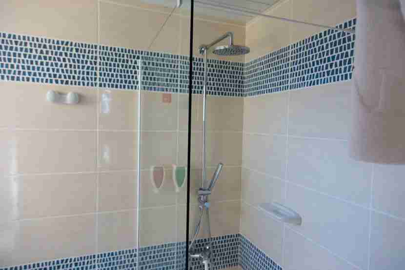 A great shower.