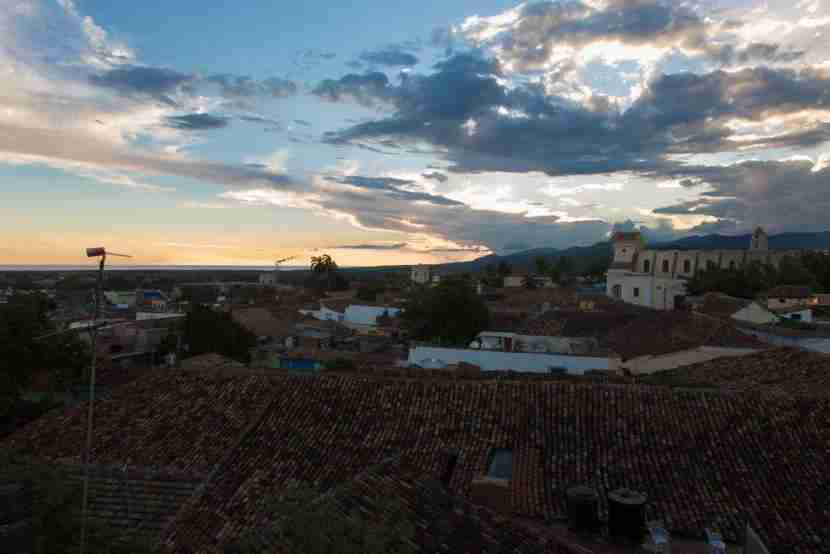 Trindad at dusk from Fidel and Yesenia
