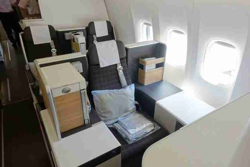 Swiss 777-300ER Business Class Review