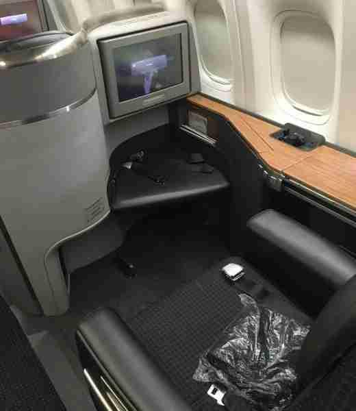 My 777-300ER Flagship Suite for the JFK-MIA leg.