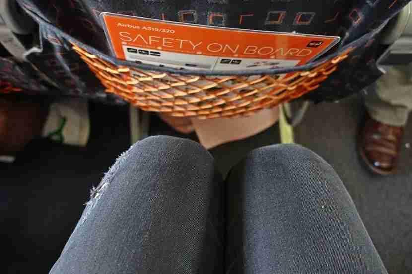 My knees on easyJet.