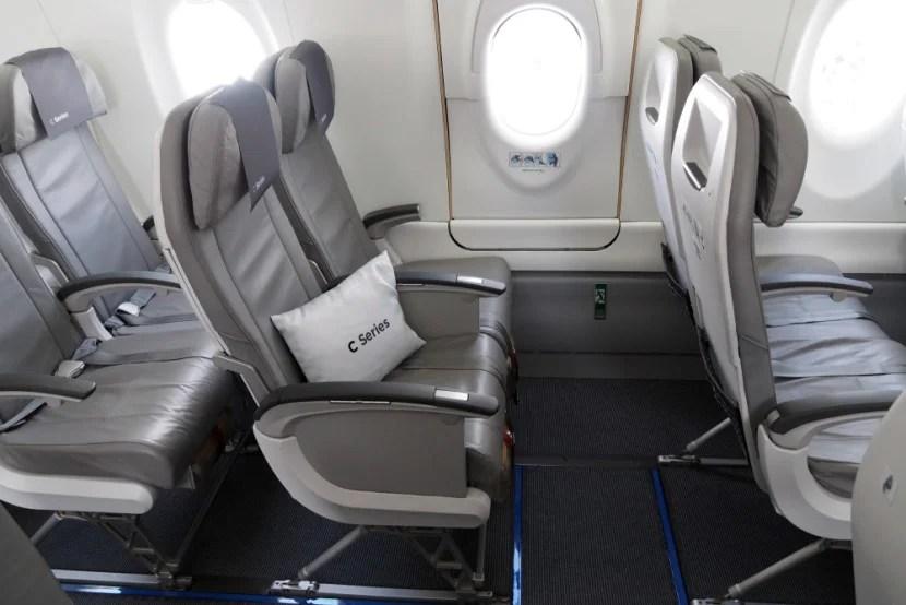 Bombardier CSeries Farnborough