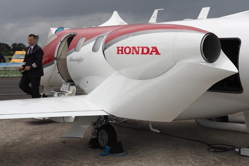 Take A Look Inside Honda39s 45 Million Private Jet