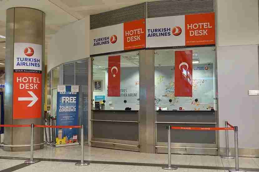 The touristanbul help desk will take your boarding pass and get you registered for the free tour.