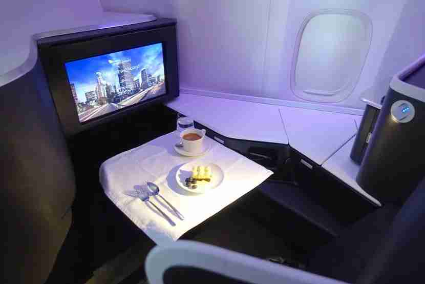 Dessert anyone? The airline is serving Nespresso in business class now.