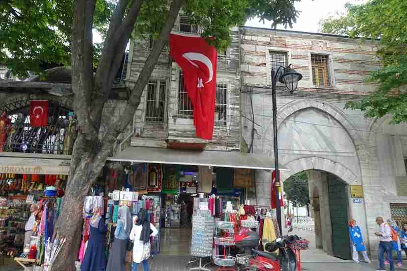 Turkish pride shows up everywhere as you wander through the streets of Istanbul.