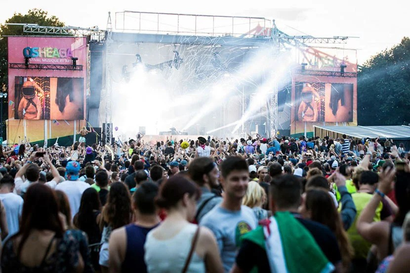 See some of your favorite musicians up close at Montreal's Osheaga music festival this summer. Image courtesy of Osheaga.