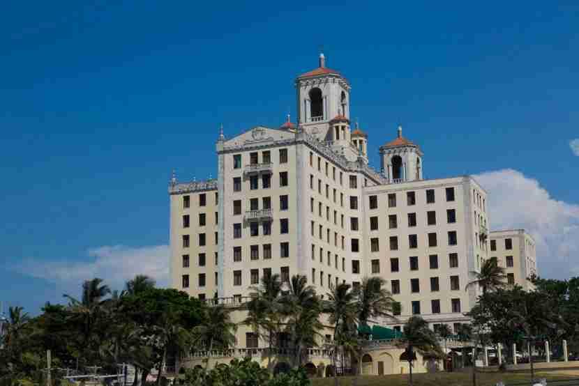The iconic Hotel Nacional.