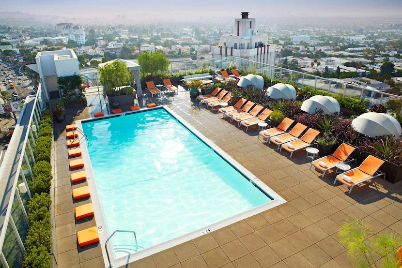 West Hollywood, land of swimming pools and movie stars. Image courtesy of Visit West Hollywood.