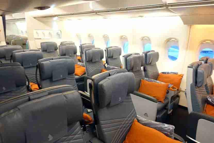 The orange theme felt very modern and sleek.