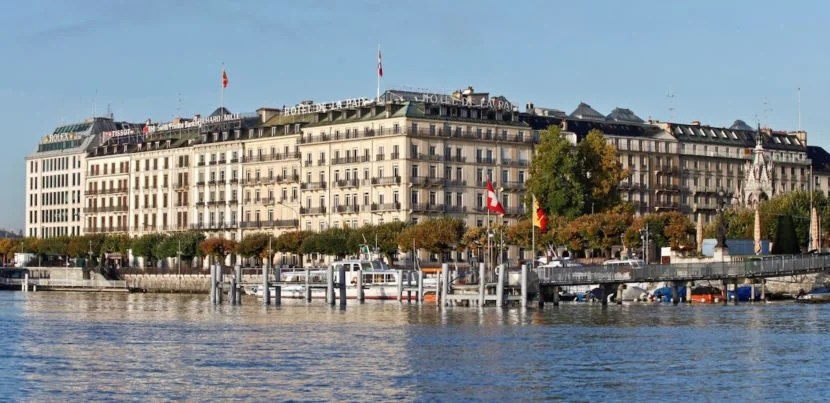 The landmark Hotel de la Paix became affiliated with Ritz-Carlton in 2015.