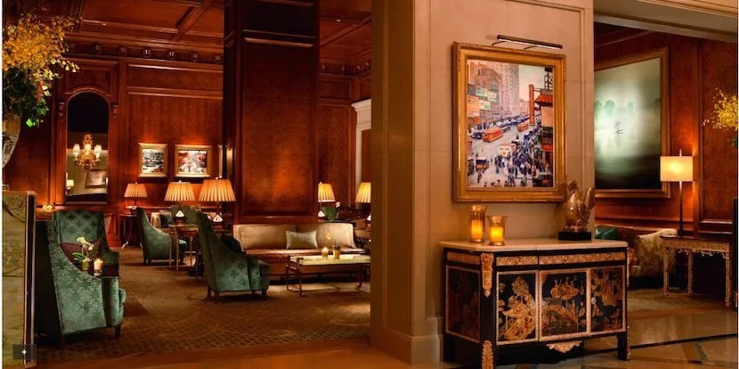 The Ritz-Carlton Central Park has exorbitant nightly rates. Photo courtesy of Ritz-Carlton.