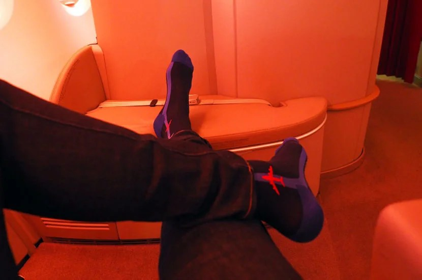 Overall, Air France La Première is a comfortable product on the A380, but I'd recommend the 777 if given a choice.