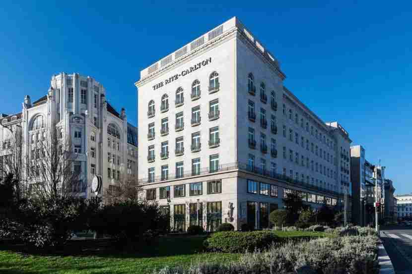 Le Meridien Budapest has been converted into The Ritz-Carlton, Budapest. Image courtesy of the hotel.