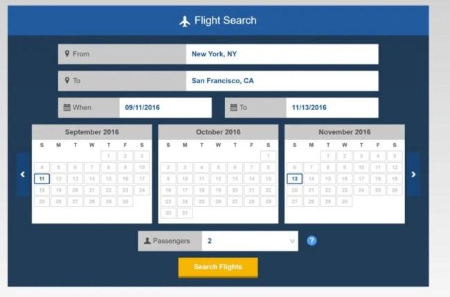 VisaFlightSearch