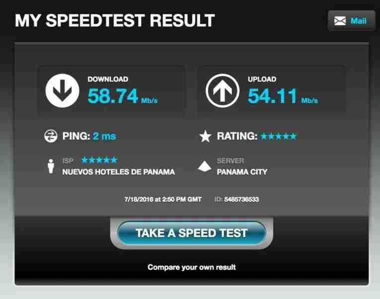 Aloft Panama Wifi
