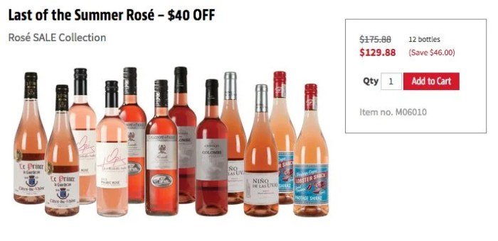 My wife has been on a big Rose kick, so I'm intrigued by this sampler pack through WSJwine thanks to the $50 statement credit through Amex Offers.