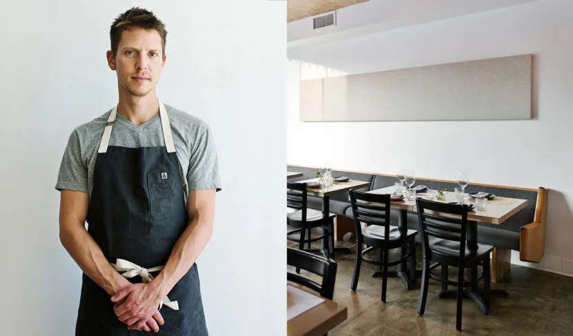 Zach Pollack at his restaurant Alimento. Image courtesy Alimento