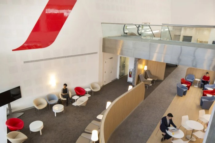The Air France Lounge at JFK has a special area just for La Première passengers. Image courtesy of Air France.
