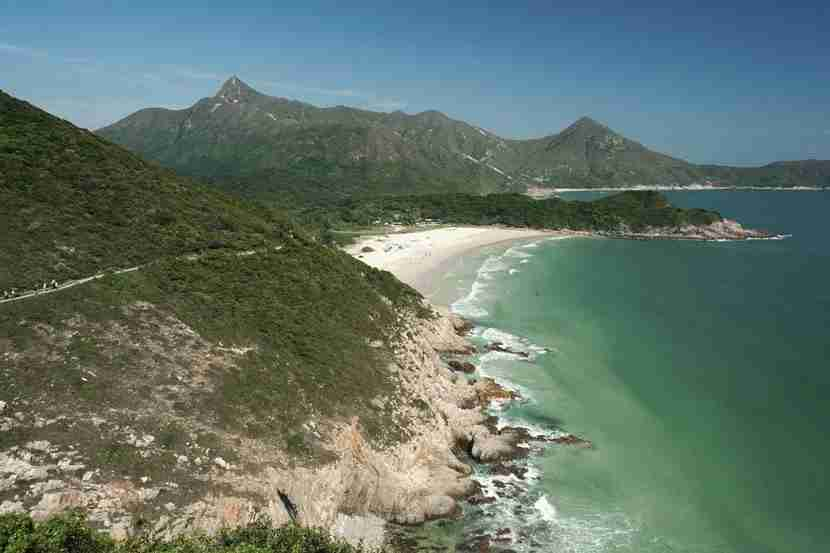 The Hong Kong UNESCO Global Geopark is home to some of the New Territories
