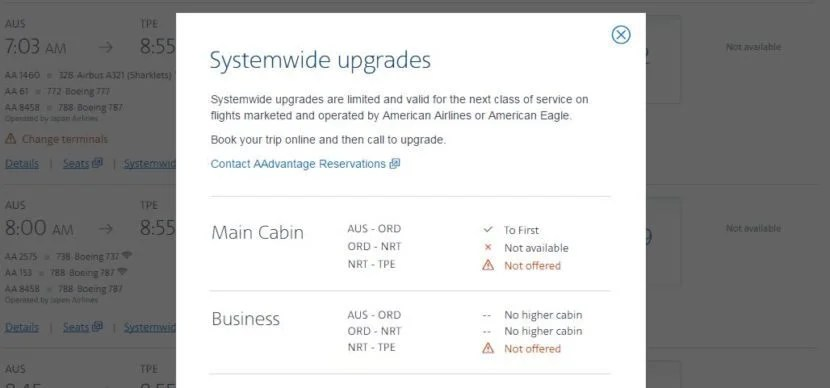 Easily find out if your systemwide upgrades will clear immediately.