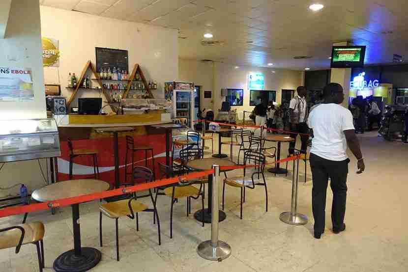 Léopold Sédar Senghor International Airport has seen better days.