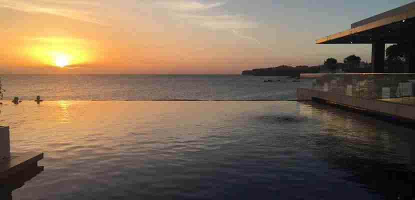 The views from the infinity pool at the Radisson Blu never failed to amaze me.