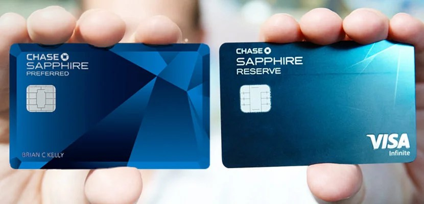 chase sapphire preferred and reserve featured