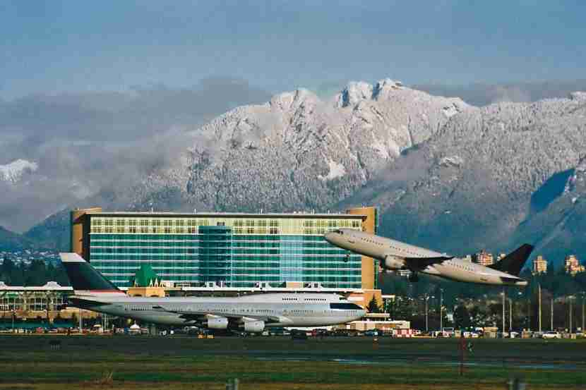 Image courtesy of the Fairmont Vancouver Airport