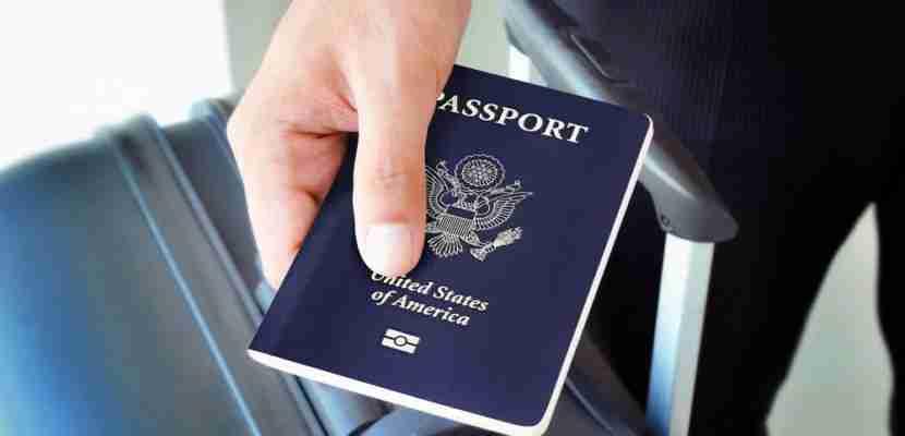 Opening your passport shouldn