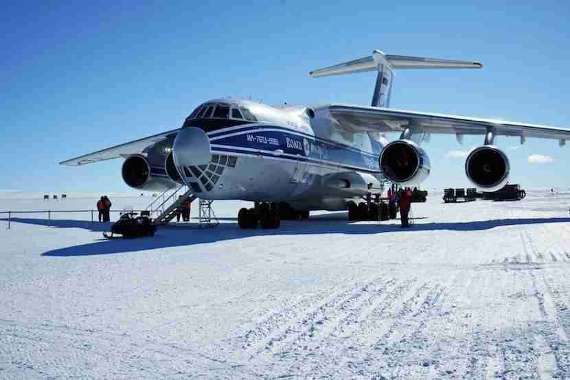 This is what arriving in Antarctica looks like. Image courtesy of White Desert Antarctica.
